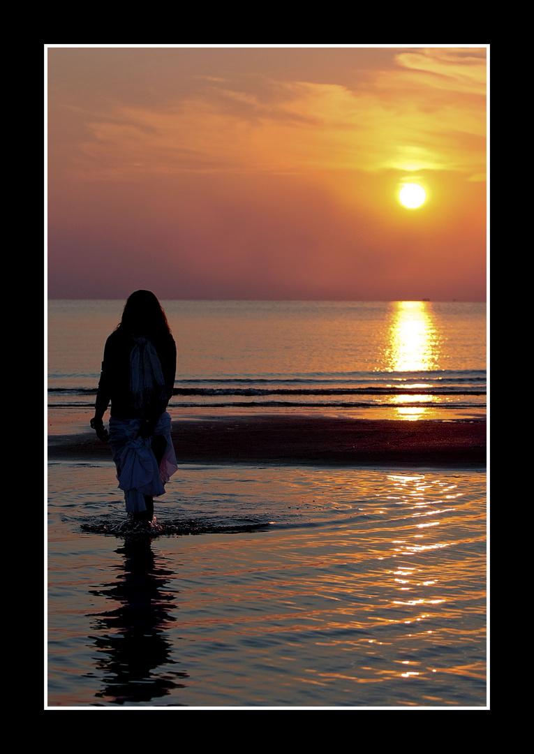 L'alba...il tramonto della notte rosa