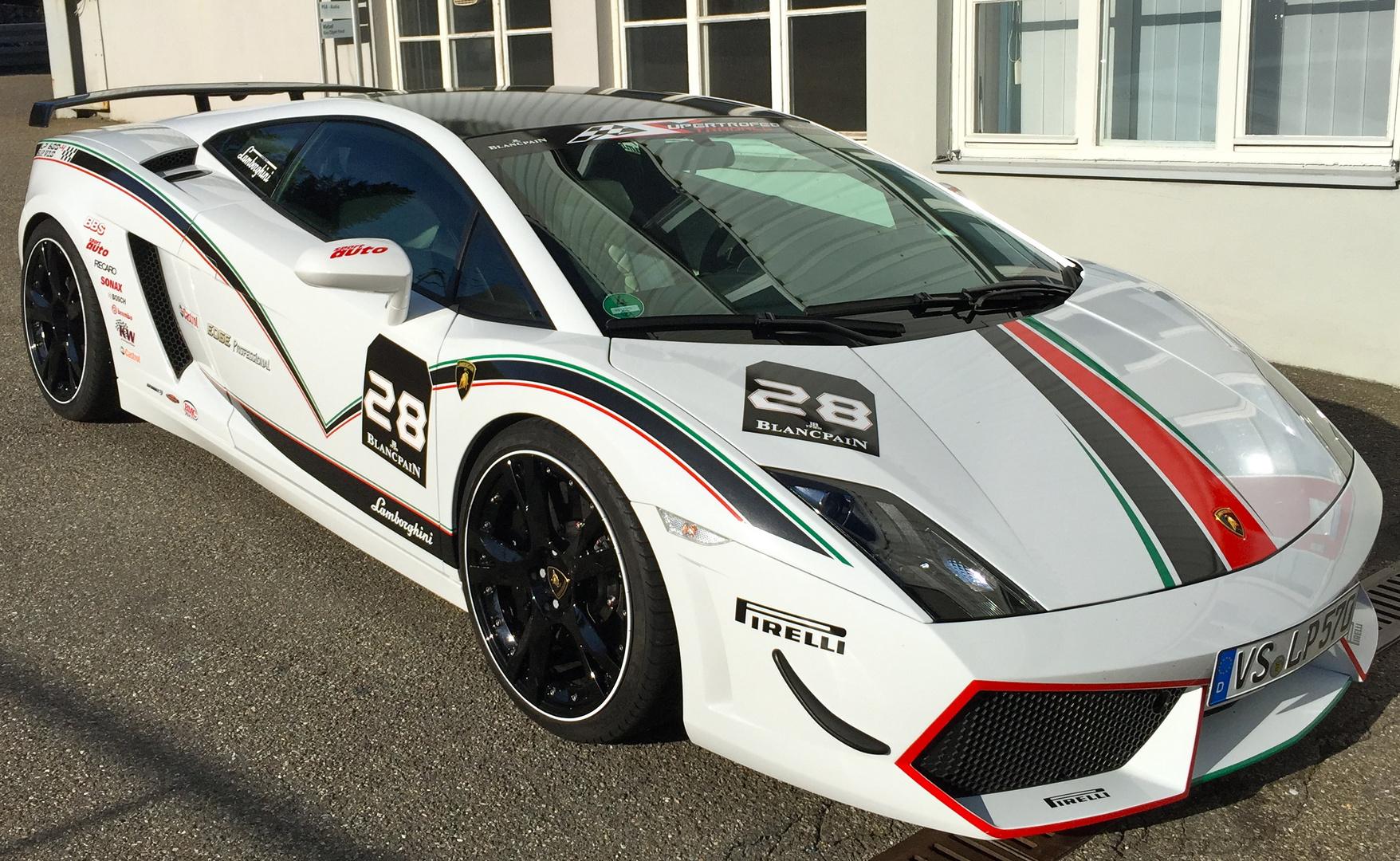 Lamborghini Gallardo Blancpain