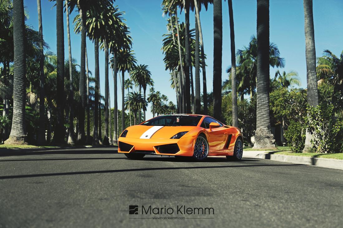 Lamborghini Gallardo in Beverly Hills