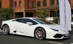 Lamborghini in der Klassikstadt