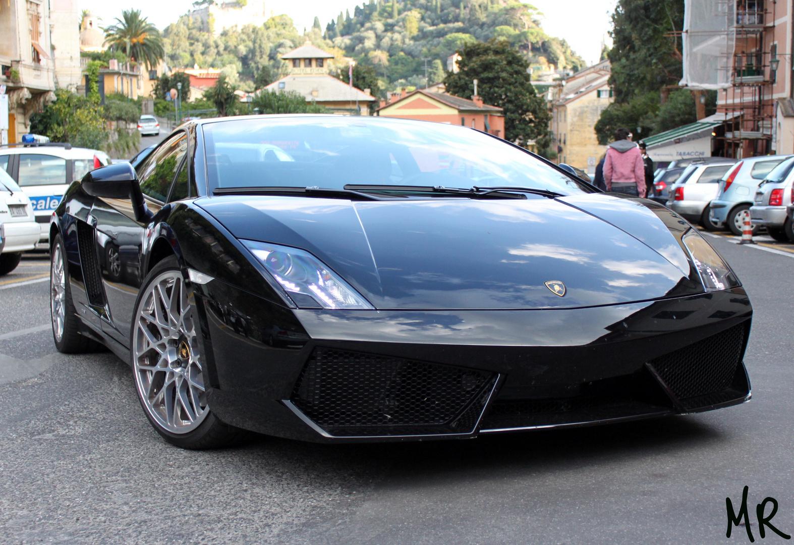 Lamborghini LP 560-4 at Portofino
