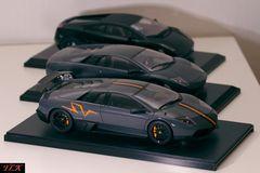 Lamborghini Modelle 1:18 Arr. 03: Murcielago LP670SV, Murcielago LP640, Gallardo Nera