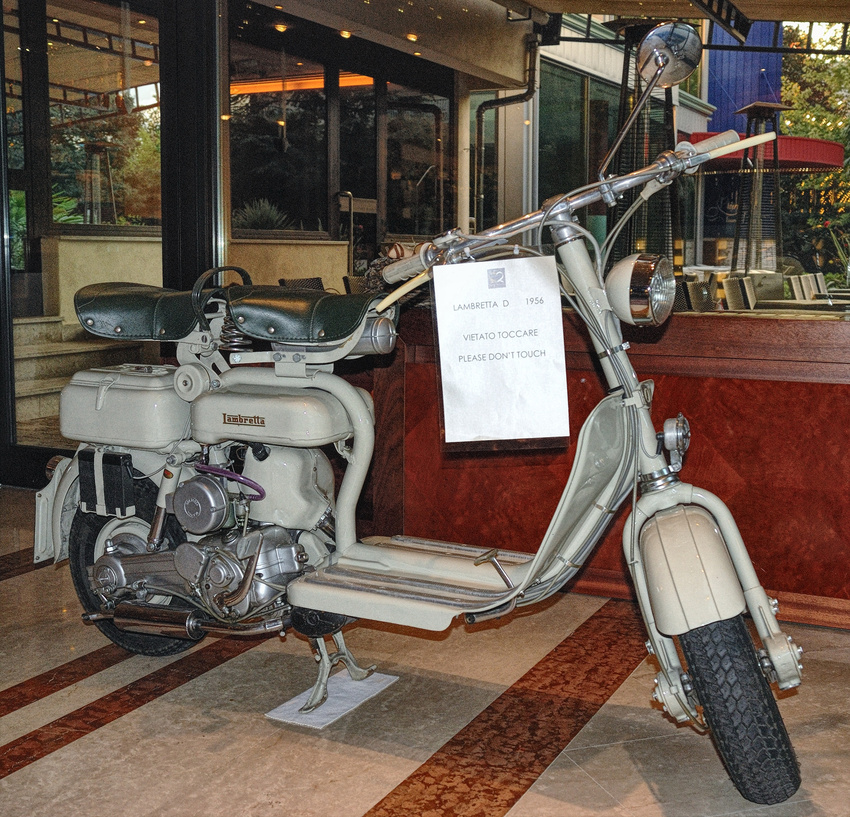 """"""" Lambretta D 1956 """""""