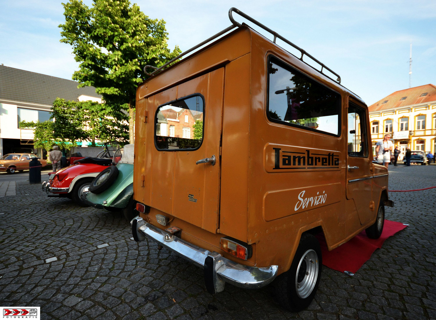 Lambretta Willam Fourgonette Servizio