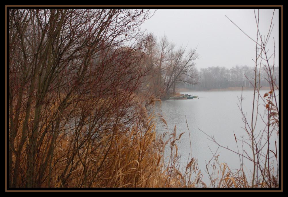 Lambsheimer See an Heilig Abend
