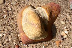 Lameroo-Beach: Steinernes Herz(?)