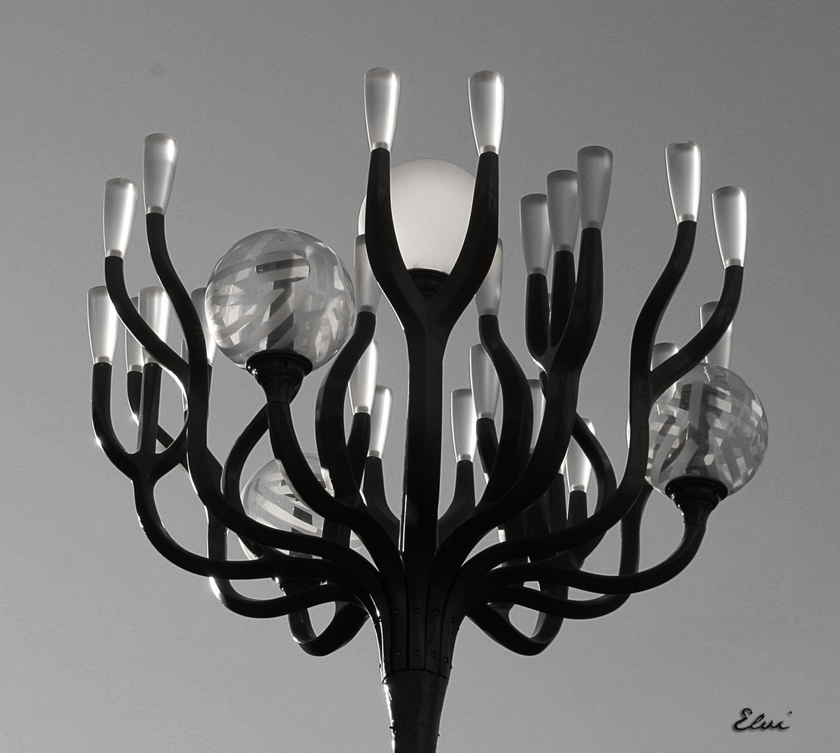 Lampadaire moderne