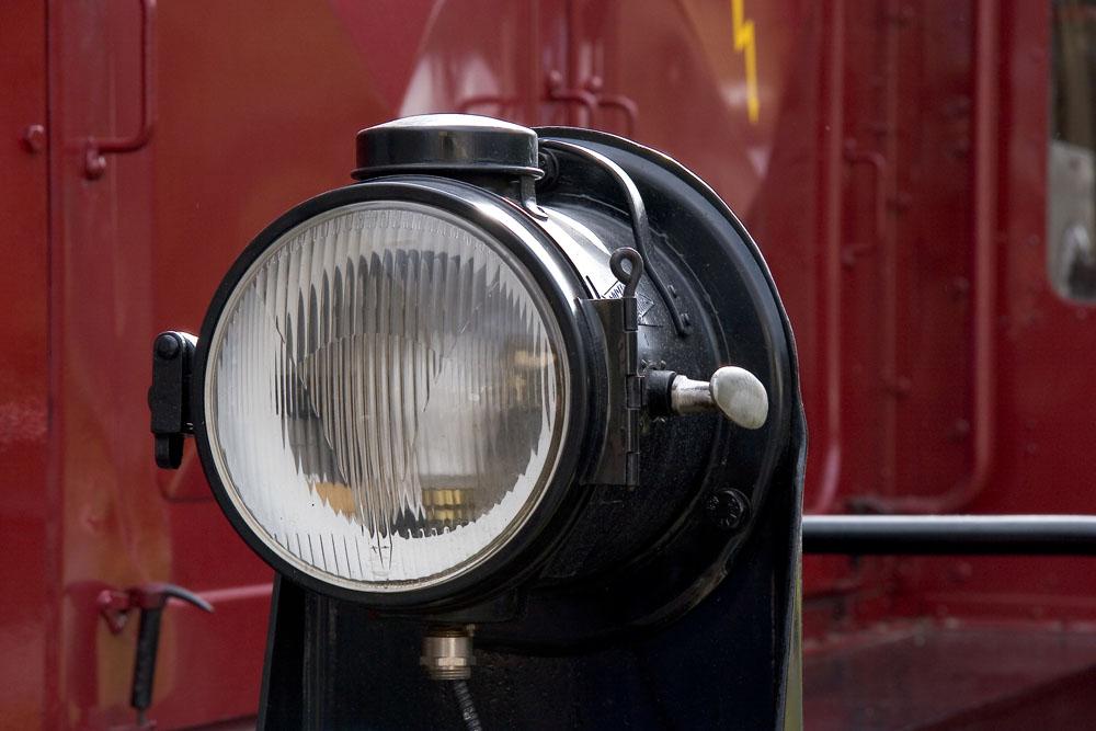 Lampe einer Rangier-Lok