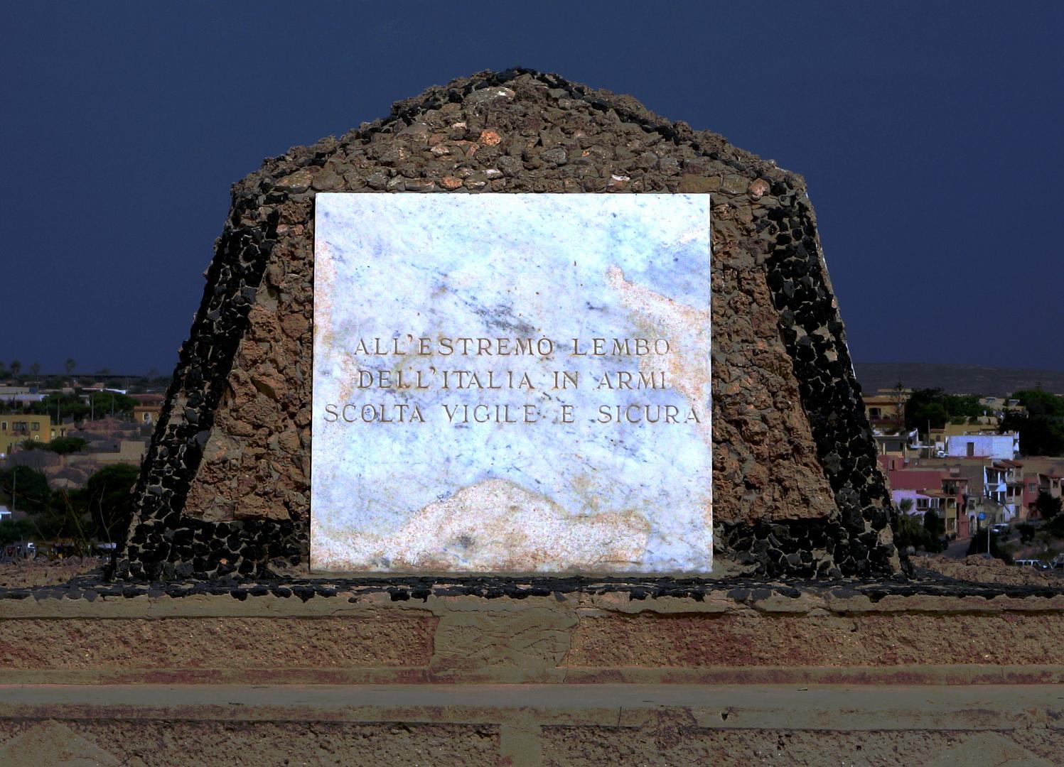 Lampedusa Confine Italiano ed Europeo