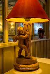 Lampenschirm im Hotel/Restaurant Engel Sasbachwalden