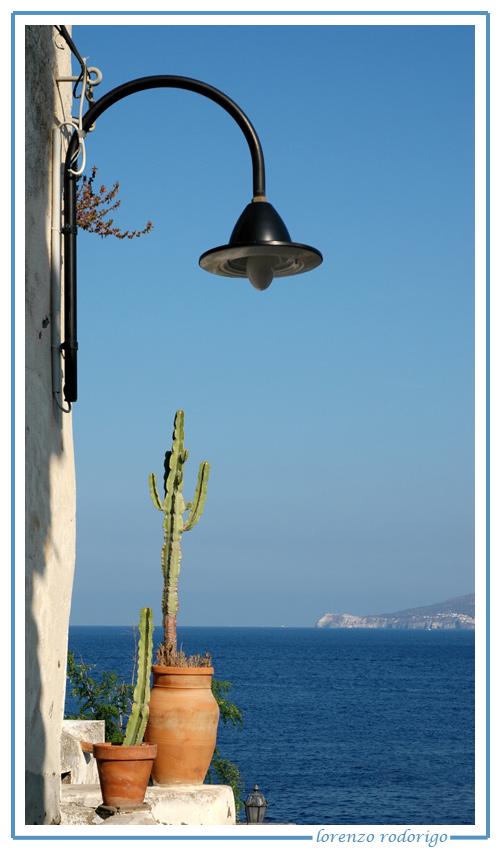 Lampione su Salina