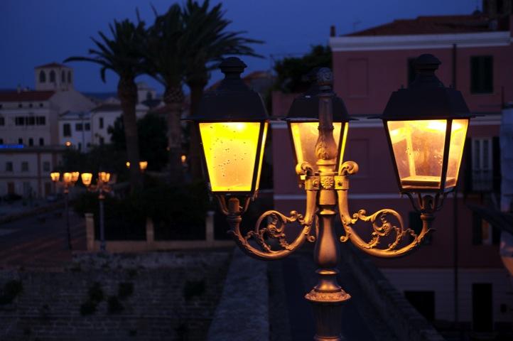 Lampioni di notte