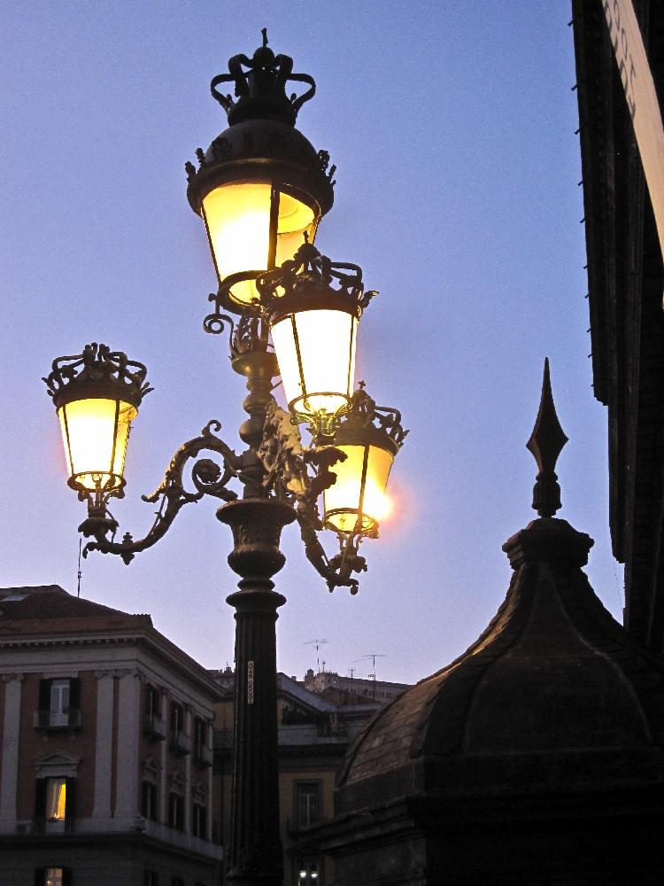 Lampioni di Palazzo Reale