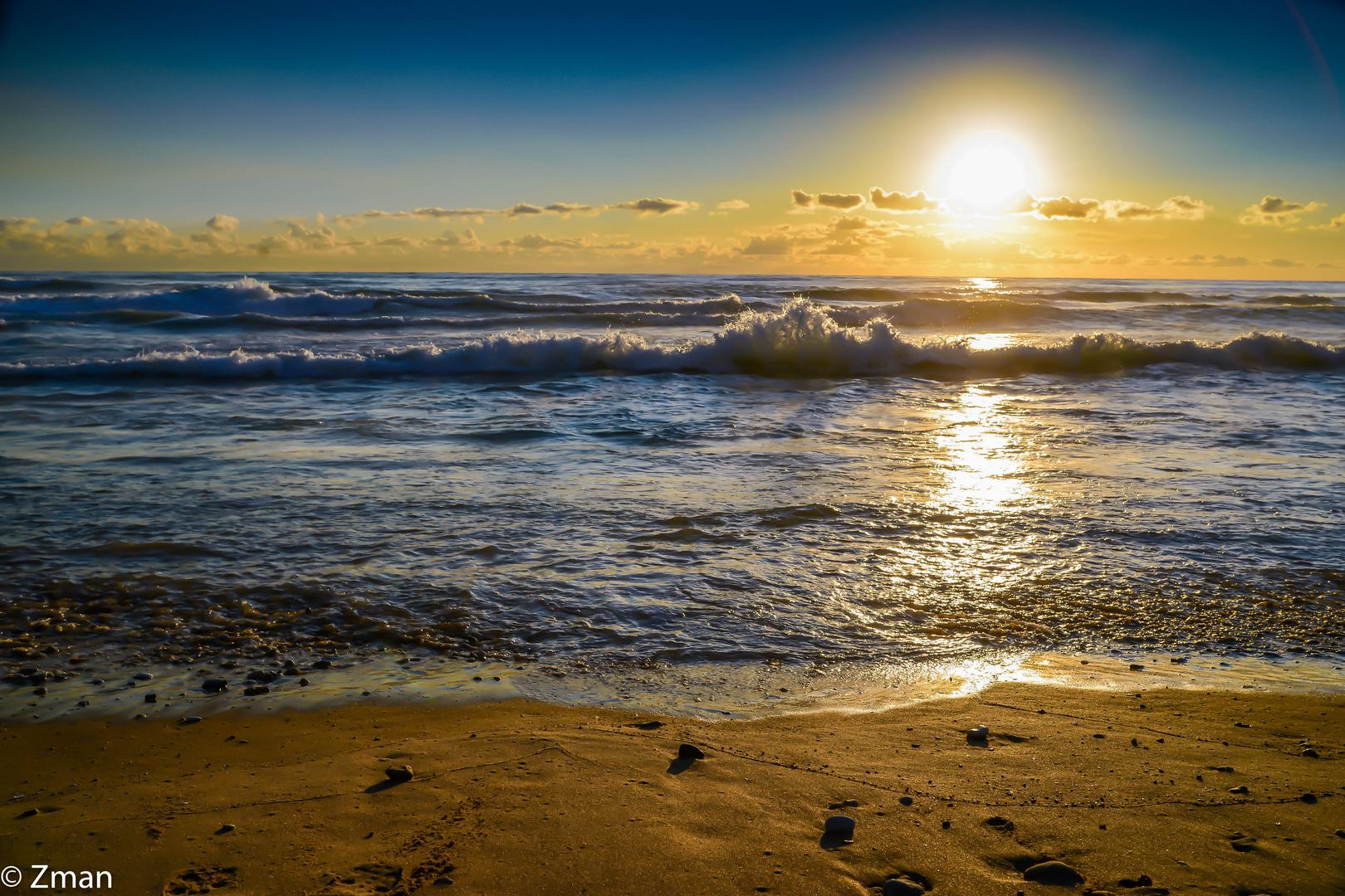 LAN_6235-49 Sunset at White Sands Beach