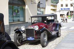 Lanciatreffen in Varallo, Piemont