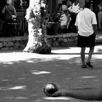 L'ancien jeu de pétanque. Provence # 1