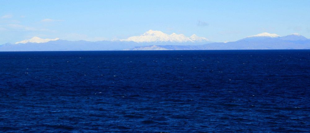 Land beyond the sea...