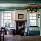 Landarbeiterhaus; Leben in einem Raum