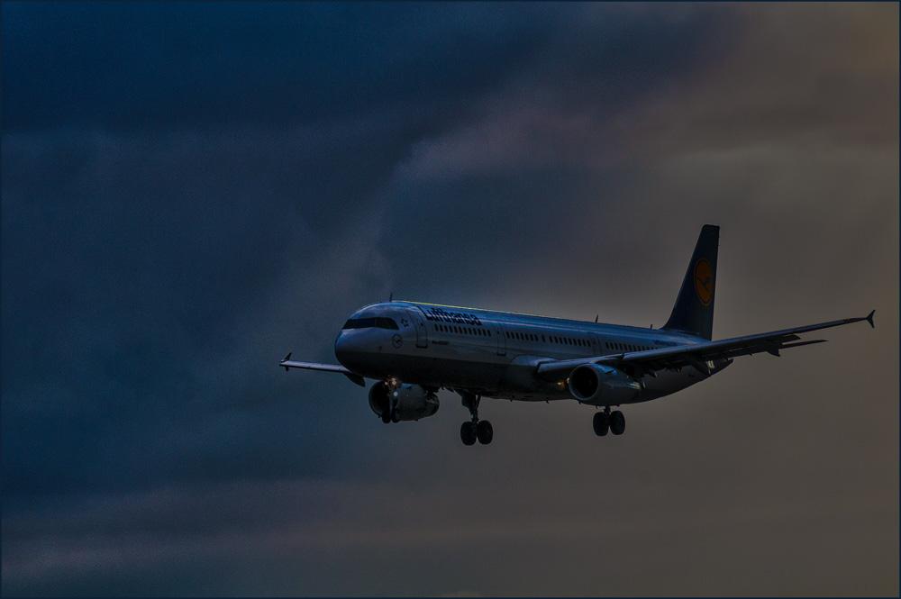 Landeanflug auf MUC