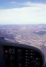 Landeanflug auf SZG