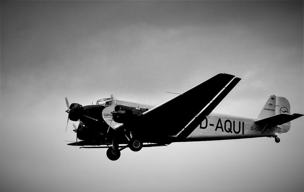 Landeanflug JU 52 D-AQUI