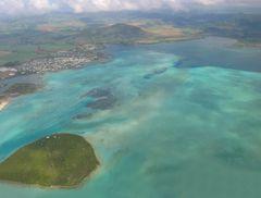 Landeanflug Mauritius