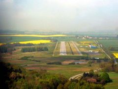 Landeanflug - Rügen Airport