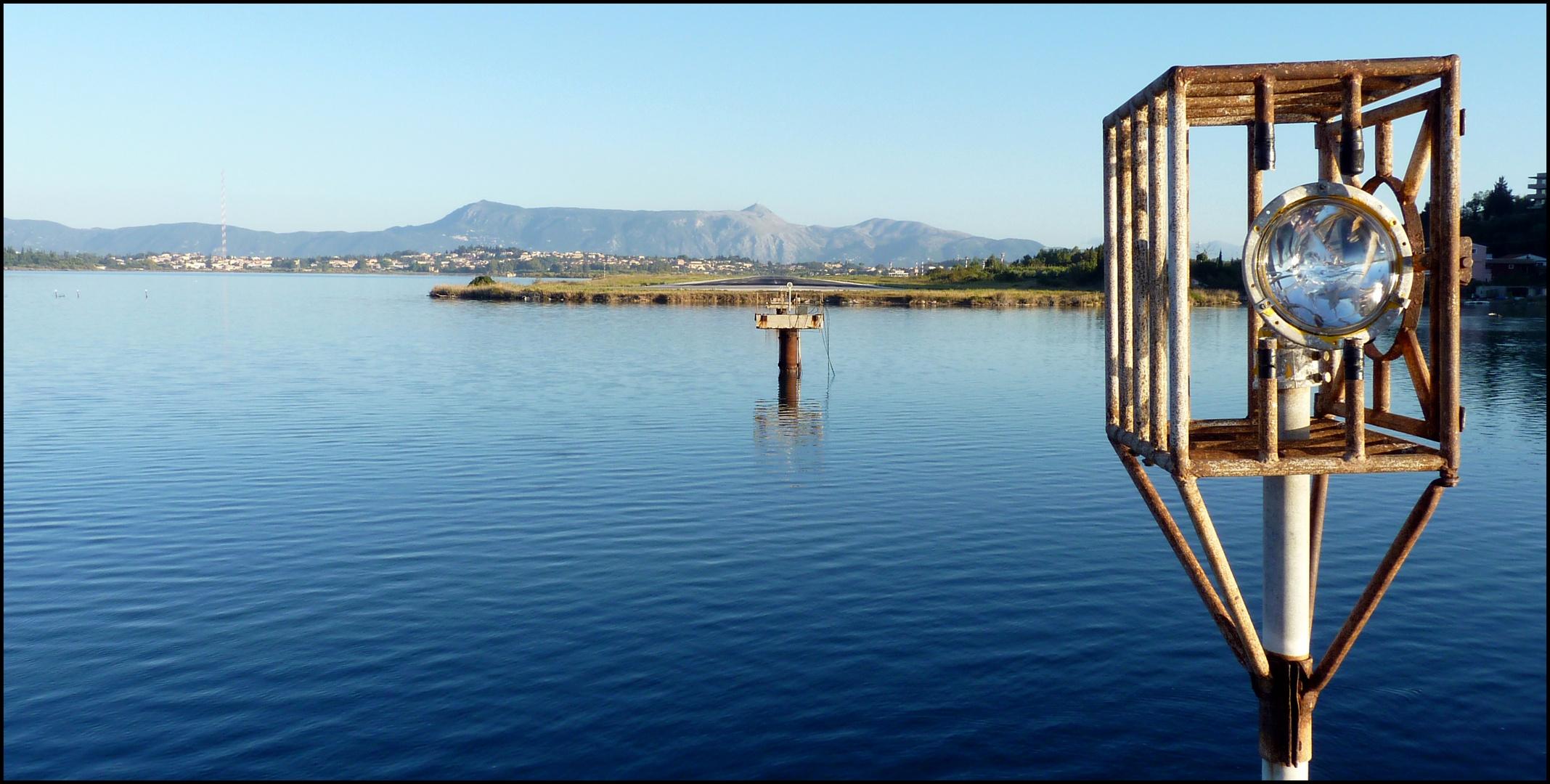 Landebahn Korfu