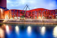 Landesarchiv NRW - Duisburg, Verwaltungstrakt mit Lesesaal und Ausstellungsräumen