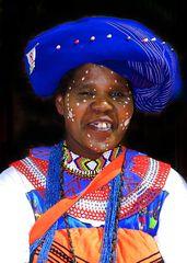 Landfrau an der Waterfront in Kapstadt