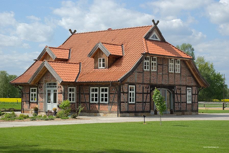 Landhaus Bei Gifhorn Foto Bild Architektur Landliche