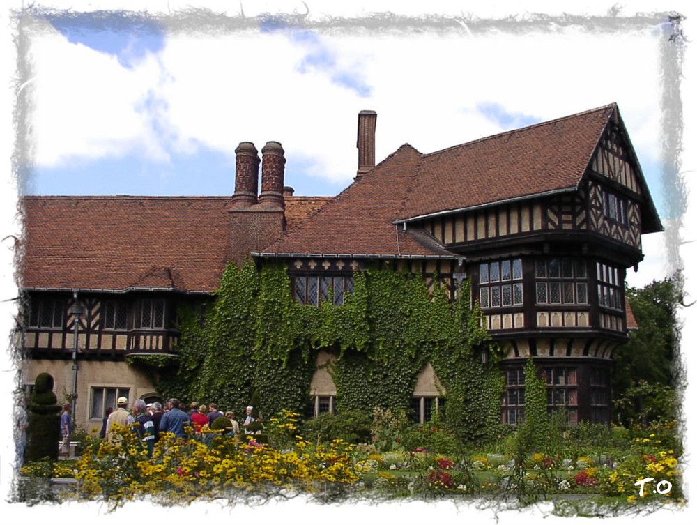 Landhaus mit historischen Hintergrund.