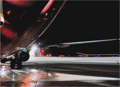 ... landing ...