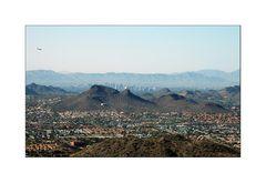 Landing in Phoenix, Arizona