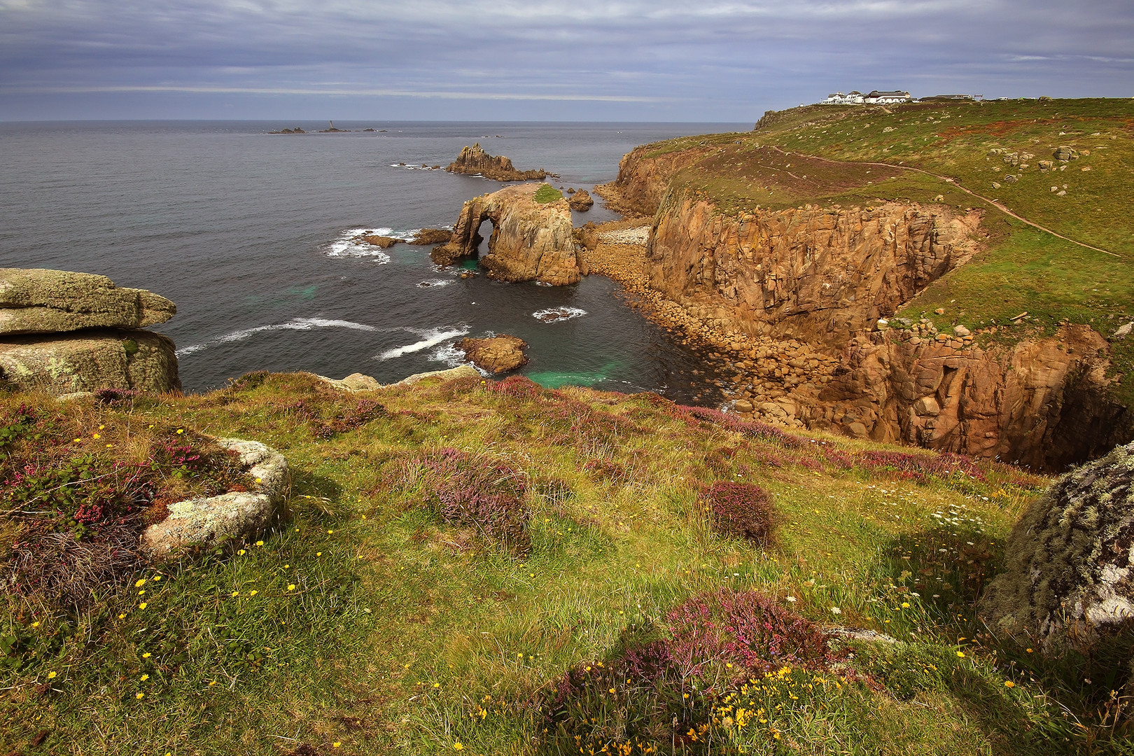 Land's end and Enys Dodman suggestions