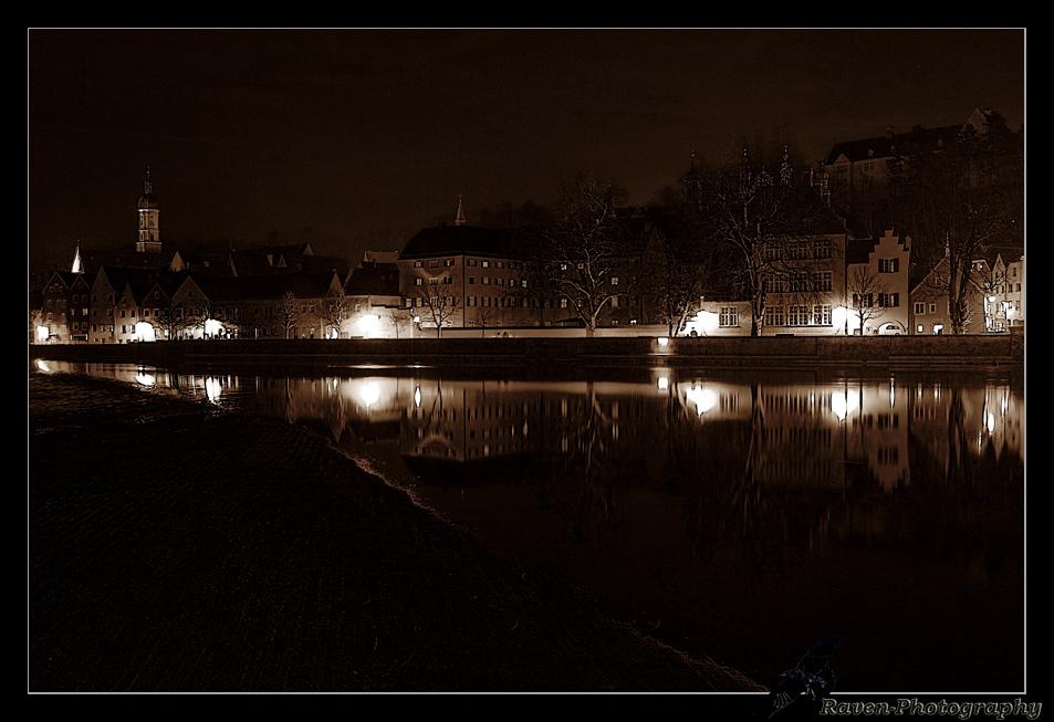 Landsberg bei Nacht ...