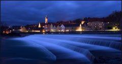 Landsberg bei Nacht