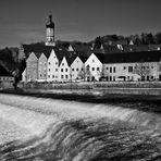 Landsberg mit Lechwehr