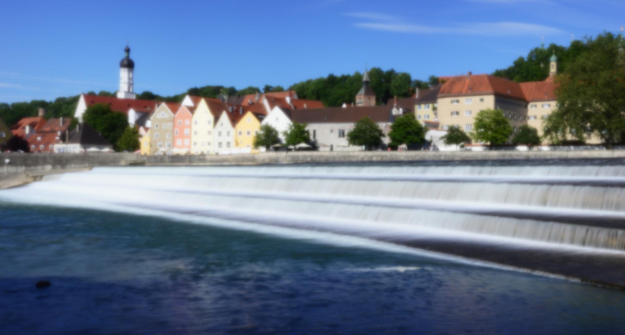 Landsberg Pinhole - digitales Panorama