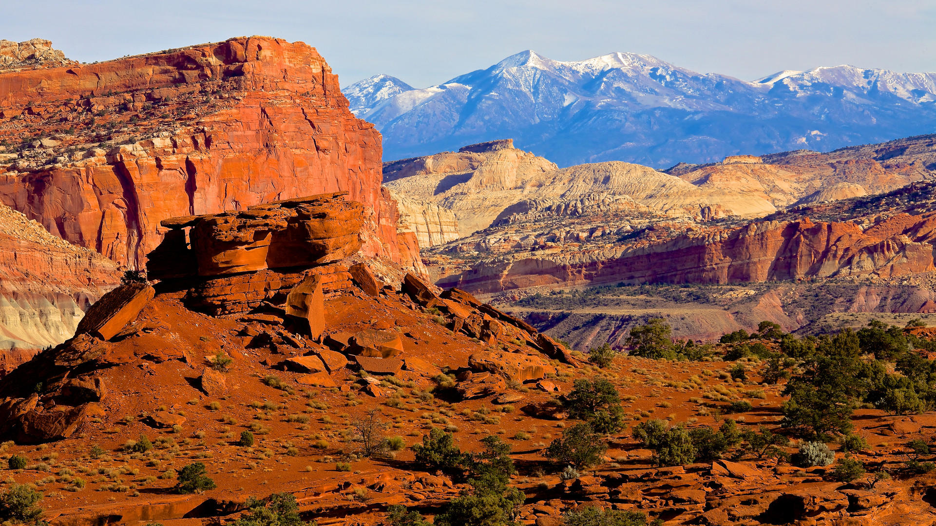 Landscape at Capitol Reef NP