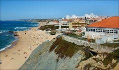 Landscape from Sta Cruz beachs till Vimeiro beaches