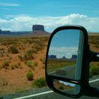 Landscape in the mirror