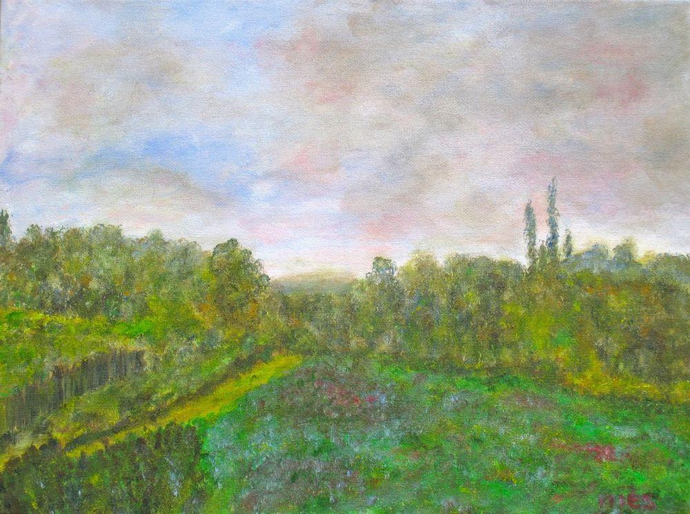 Landschaft 30 x 40 cm