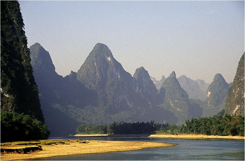 Landschaft am Li Jiang