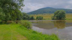 Landschaft am See (paisaje en el lago)