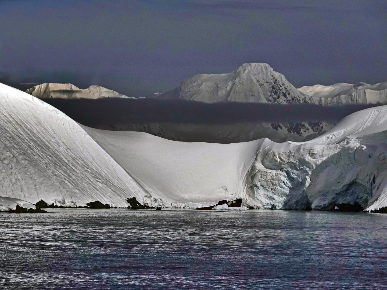 Landschaft auf der antarktischen Halbinsel