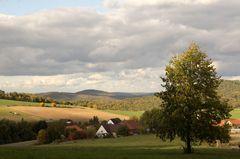 Landschaft bei Bad Wildungen