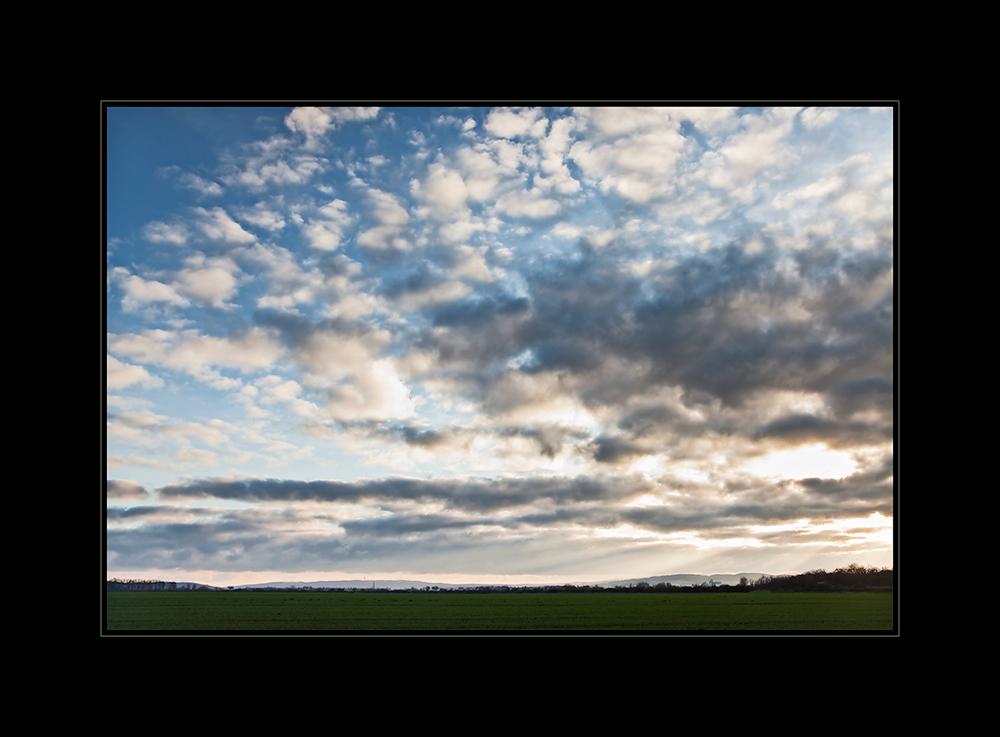 Landschaft bei Harsum / Hildesheim