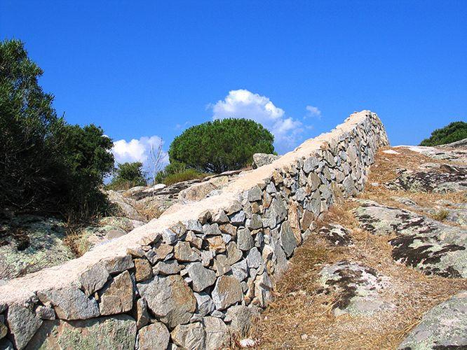 Landschaft bei Luras