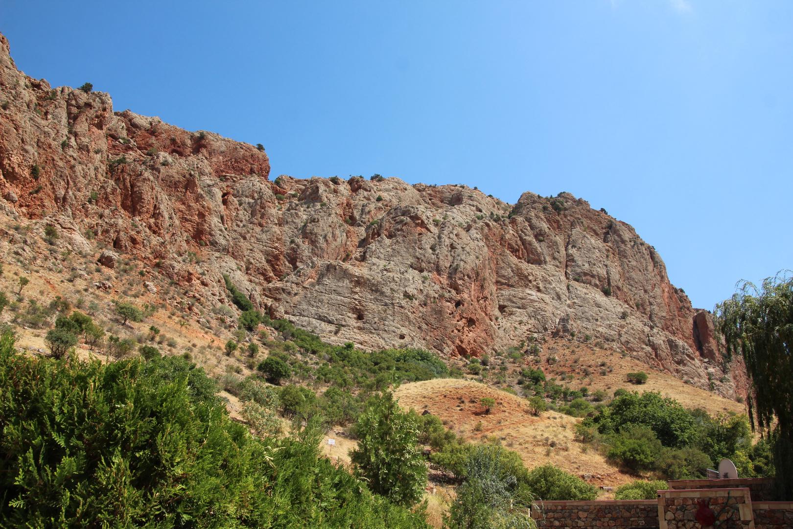 Landschaft bei Norawank Armenien